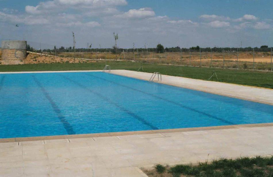 Construcci n de piscina ol mpica en utrera direcci n for Construccion de piscinas en sevilla